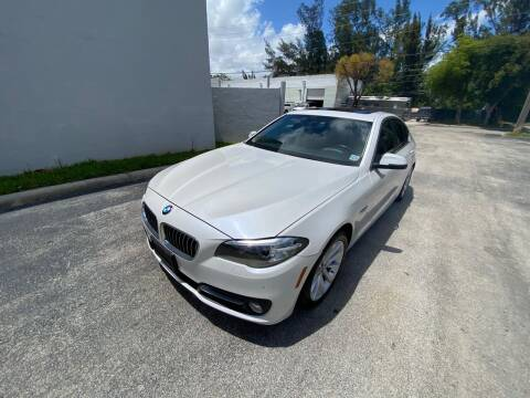 2015 BMW 5 Series for sale at Best Price Car Dealer in Hallandale Beach FL