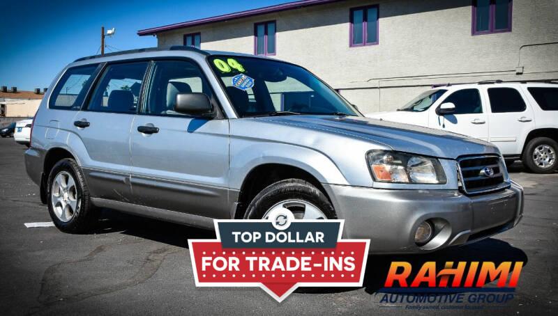 2004 Subaru Forester for sale at Rahimi Automotive Group in Yuma AZ