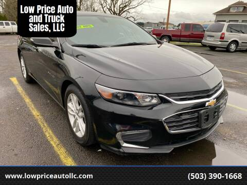 2016 Chevrolet Malibu for sale at Low Price Auto and Truck Sales, LLC in Brooks OR