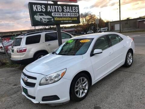 2013 Chevrolet Malibu for sale at KBS Auto Sales in Cincinnati OH
