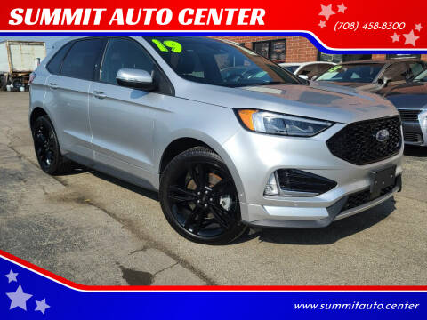 2019 Ford Edge for sale at SUMMIT AUTO CENTER in Summit IL