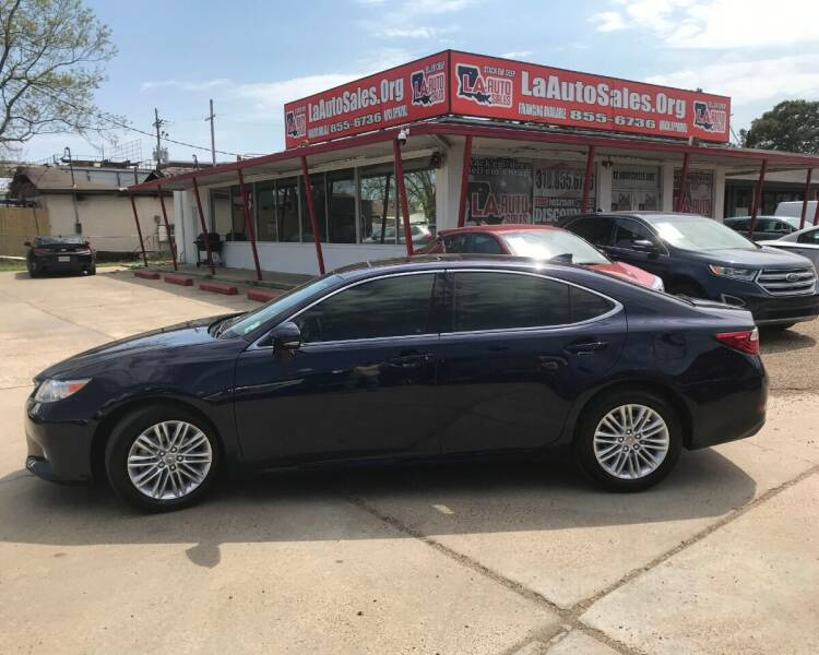 2015 Lexus ES 350 for sale at LA Auto Sales in Monroe LA
