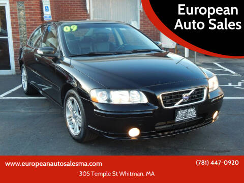 2009 Volvo S60 for sale at European Auto Sales in Whitman MA
