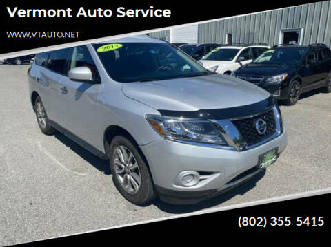 2013 Nissan Pathfinder for sale at Vermont Auto Service in South Burlington VT