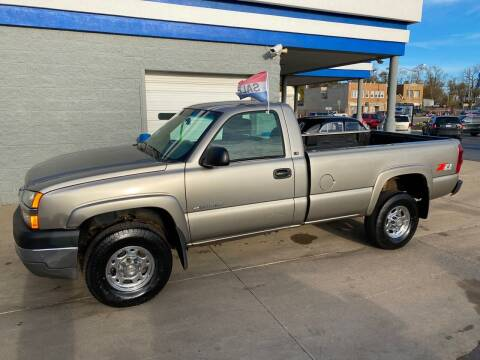 2003 Chevrolet Silverado 2500HD for sale at Motor City Direct Auto Sales & Service in Pontiac MI