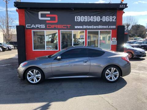 2011 Hyundai Genesis Coupe for sale at Cars Direct in Ontario CA