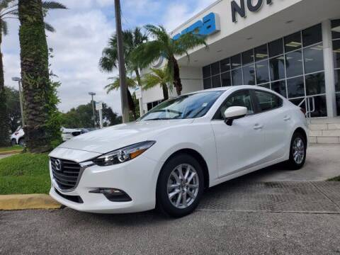 2018 Mazda MAZDA3 for sale at Mazda of North Miami in Miami FL