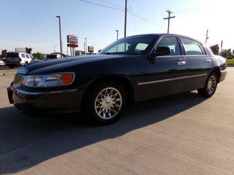 2002 Lincoln Town Car for sale at Calvary Motors, Inc. in Bixby OK