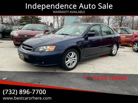 2005 Subaru Legacy for sale at Independence Auto Sale in Bordentown NJ