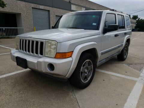 2006 Jeep Commander for sale at ZNM Motors in Irving TX