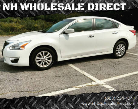 2014 Nissan Altima for sale at NH WHOLESALE DIRECT in Derry NH