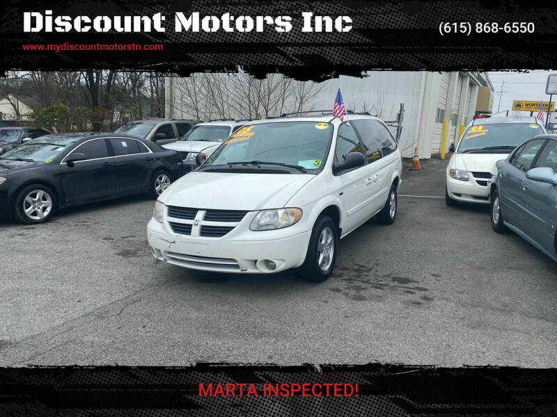 2005 Dodge Grand Caravan for sale at Discount Motors Inc in Madison TN