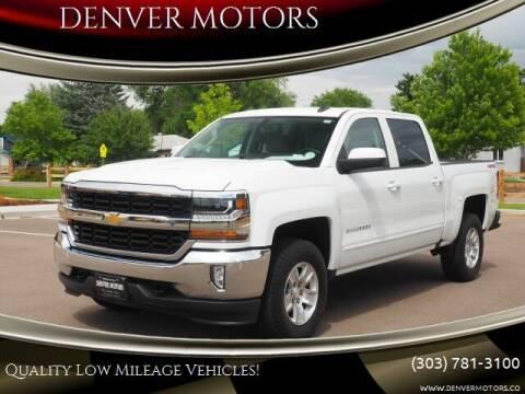 2018 Chevrolet Silverado 1500 for sale at DENVER MOTORS in Englewood CO