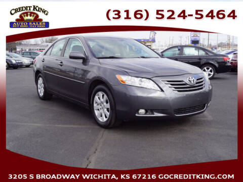 2007 Toyota Camry for sale at Credit King Auto Sales in Wichita KS