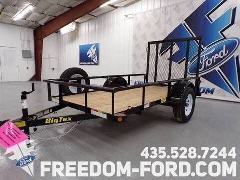 2021 Utility Trailer Big Tex 30SA-10BK for sale at Freedom Ford Inc in Gunnison UT