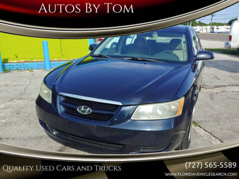 2006 Hyundai Sonata for sale at Autos by Tom in Largo FL