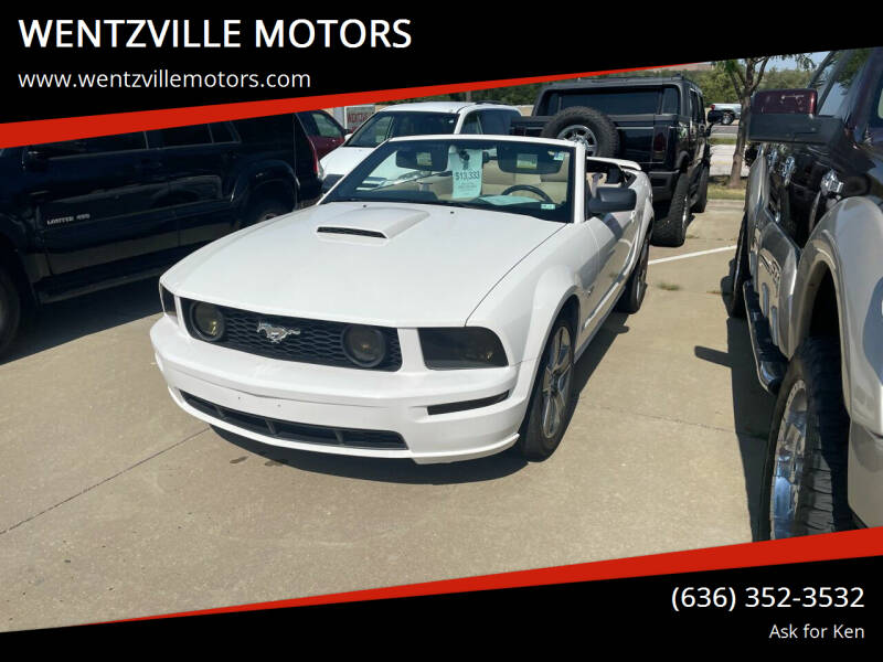 2008 Ford Mustang for sale at WENTZVILLE MOTORS in Wentzville MO