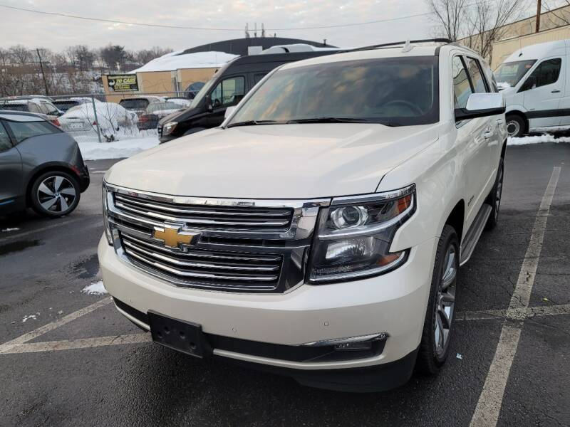 2015 Chevrolet Tahoe for sale at AW Auto & Truck Wholesalers  Inc. in Hasbrouck Heights NJ