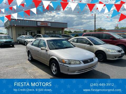 2000 Toyota Camry for sale at FIESTA MOTORS in Hagerstown MD