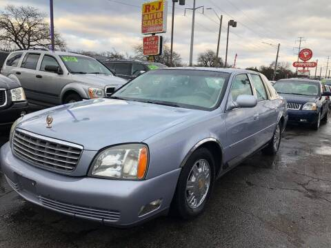 2005 Cadillac DeVille for sale at RJ AUTO SALES in Detroit MI