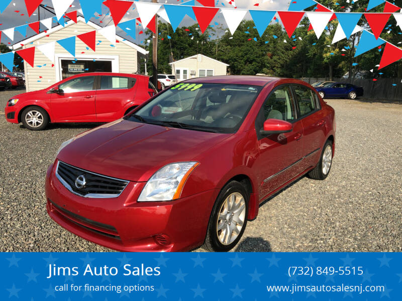 2012 Nissan Sentra for sale at Jims Auto Sales in Lakehurst NJ