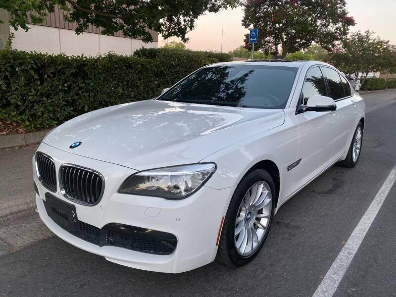 2013 BMW 7 Series for sale at LG Auto Sales in Rancho Cordova CA