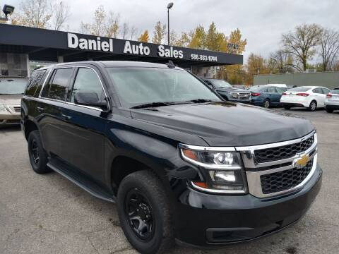 2016 Chevrolet Tahoe for sale at Daniel Auto Sales inc in Clinton Township MI