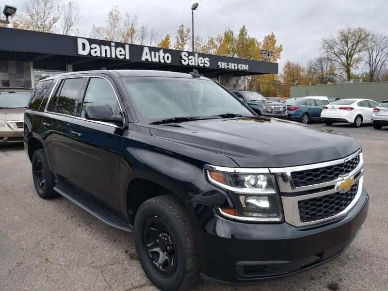 2016 Chevrolet Tahoe for sale at Daniel Auto Sales inc in Clinton Township MI