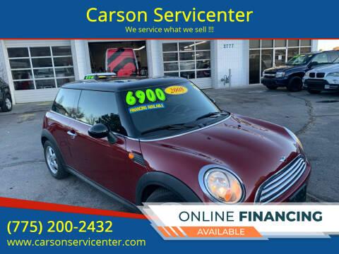 2008 MINI Cooper for sale at Carson Servicenter in Carson City NV