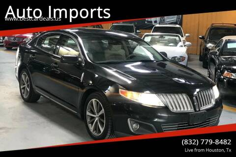 2009 Lincoln MKS for sale at Auto Imports in Houston TX