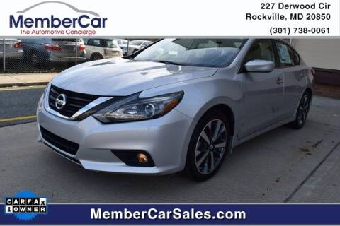 2017 Nissan Altima for sale at MemberCar in Rockville MD