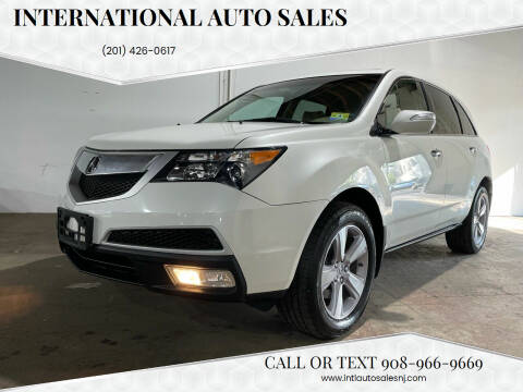 2013 Acura MDX for sale at International Auto Sales in Hasbrouck Heights NJ
