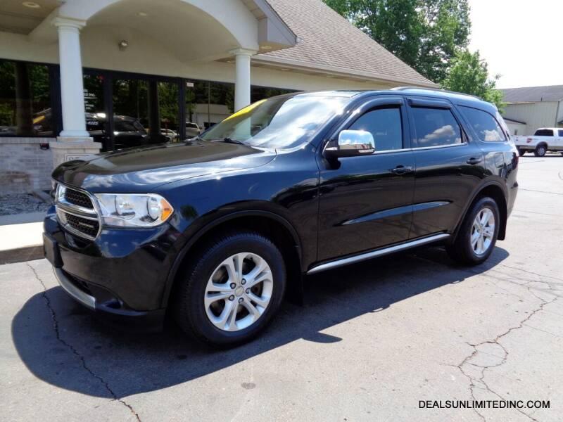 2011 Dodge Durango for sale at DEALS UNLIMITED INC in Portage MI
