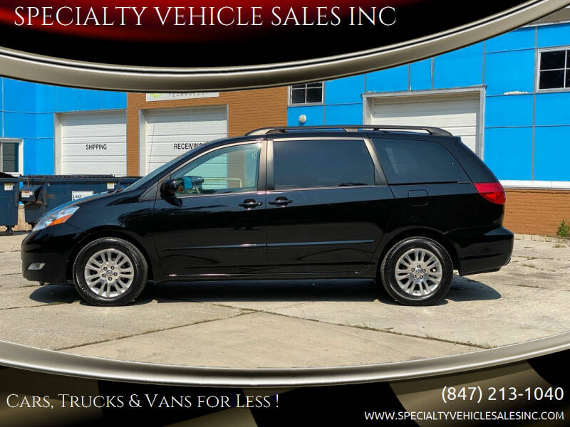 2009 Toyota Sienna for sale at SPECIALTY VEHICLE SALES INC in Skokie IL
