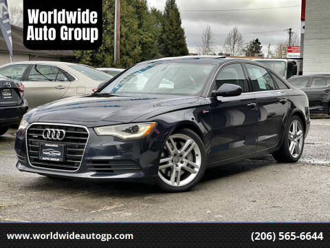 2014 Audi A6 for sale at Worldwide Auto Group in Auburn WA
