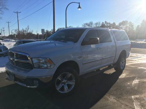2014 RAM Ram Pickup 1500 for sale at Premier Motors LLC in Crystal MN