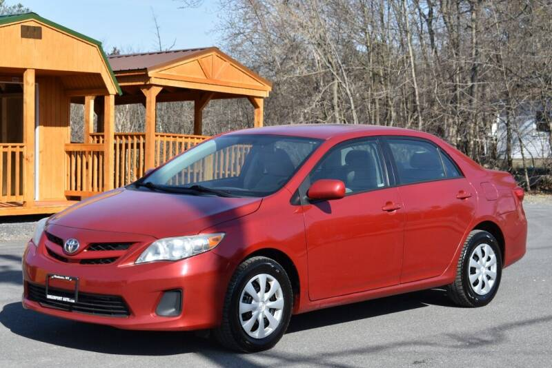 2011 Toyota Corolla for sale at GREENPORT AUTO in Hudson NY