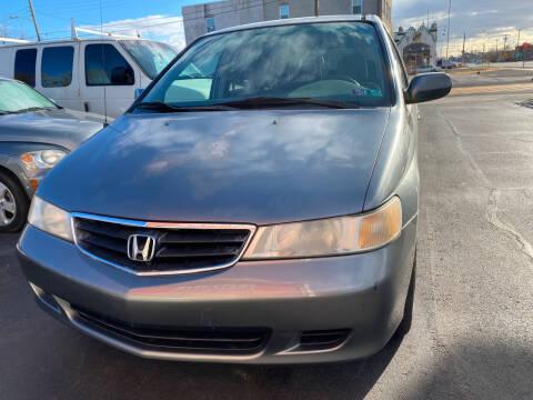 2002 Honda Odyssey for sale at Diamond Auto Sales in Pleasantville NJ