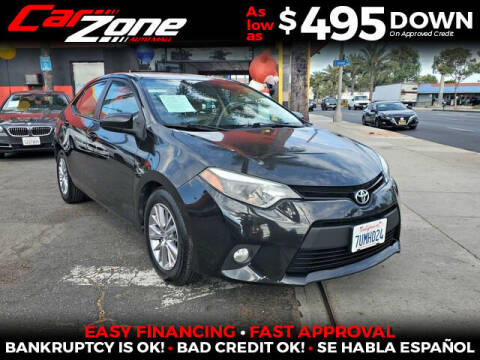 2014 Toyota Corolla for sale at Carzone Automall in South Gate CA