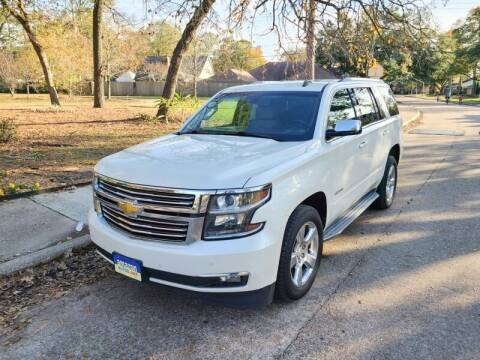 2015 Chevrolet Tahoe for sale at Amazon Autos in Houston TX