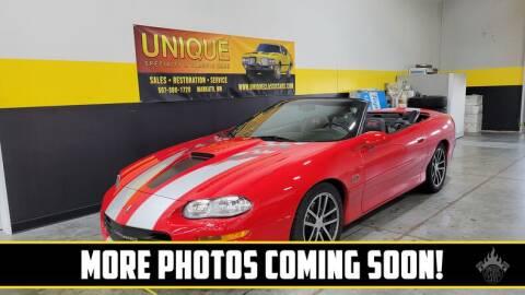 2002 Chevrolet Camaro for sale at UNIQUE SPECIALTY & CLASSICS in Mankato MN