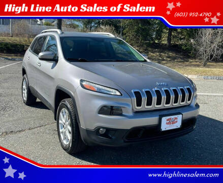 2017 Jeep Cherokee for sale at High Line Auto Sales of Salem in Salem NH
