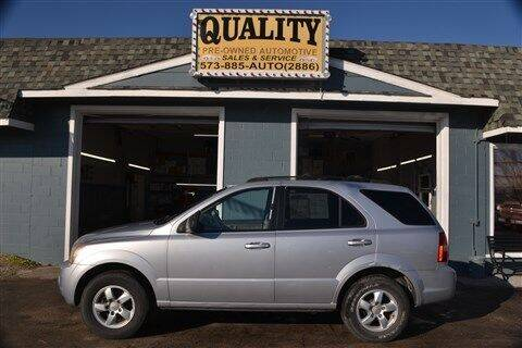 2007 Kia Sorento for sale at Quality Pre-Owned Automotive in Cuba MO