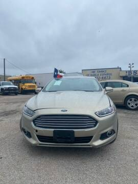 2015 Ford Fusion for sale at BSA Used Cars in Pasadena TX