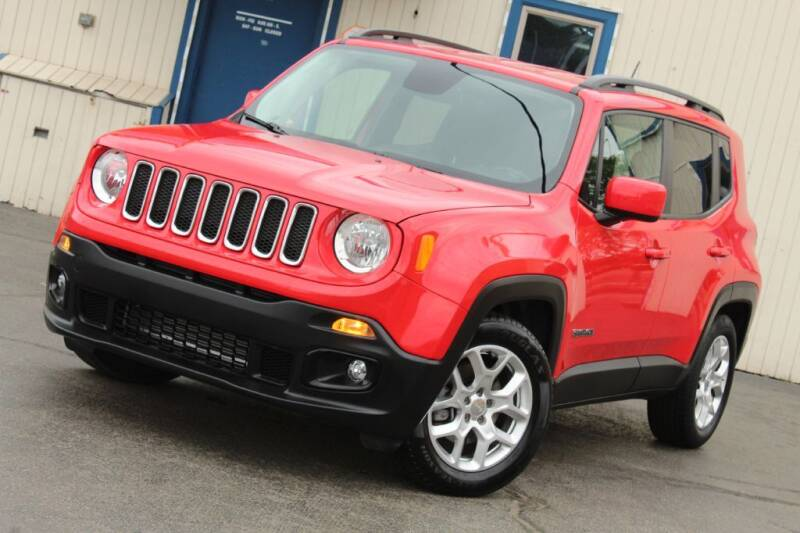 2015 Jeep Renegade for sale at Dynamics Auto Sale in Highland IN