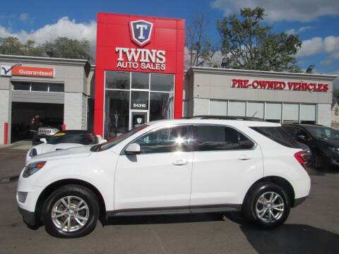 2017 Chevrolet Equinox for sale at Twins Auto Sales Inc in Detroit MI