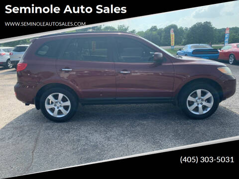 2009 Hyundai Santa Fe for sale at Seminole Auto Sales in Seminole OK