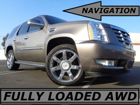 2012 Cadillac Escalade for sale at ALL STAR TRUCKS INC in Los Angeles CA