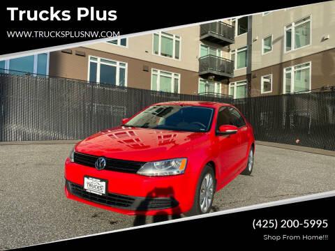 2012 Volkswagen Jetta for sale at Trucks Plus in Seattle WA