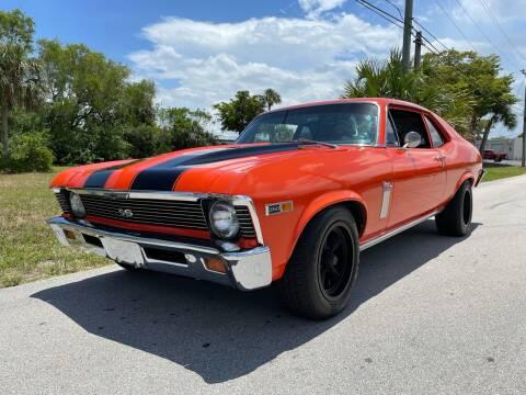 1969 Chevrolet Nova for sale at American Classics Autotrader LLC in Pompano Beach FL